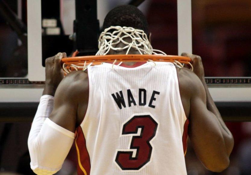 D.Wade'as surinko 30 taškų