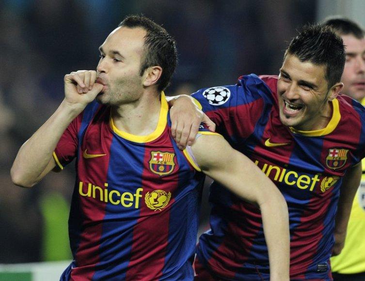 Barselonos futbolinnkai pasiekė lengvą pergalę.