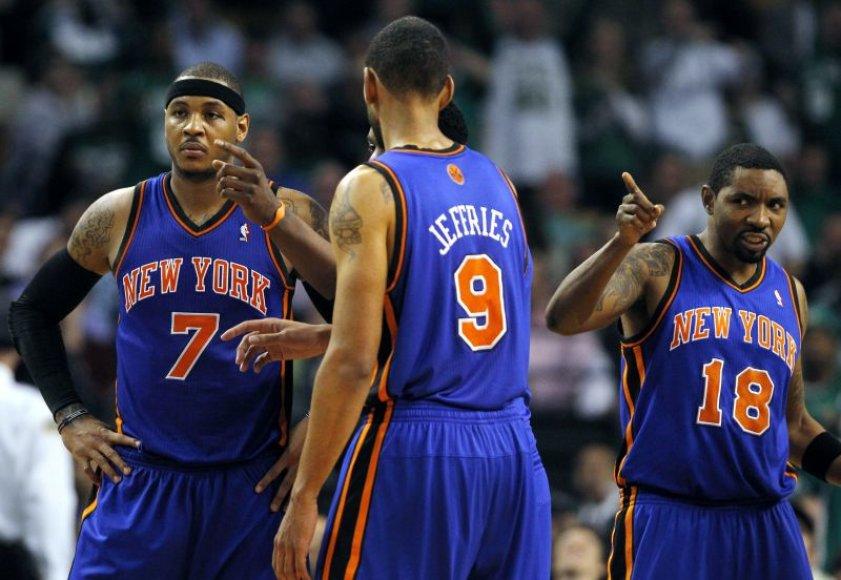 Niujorko krepšininkai pralaimėjo ir antrąsias rungtynes.