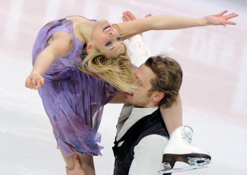 Pasaulio dailiojo čiuožimo čempionate Maskvoje dalyvaus vienintelė Lietuvos šokių ant ledo pora.