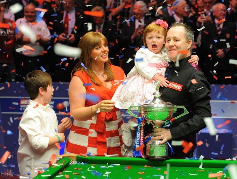 Pasaulio čempionas Johnas Higginsas