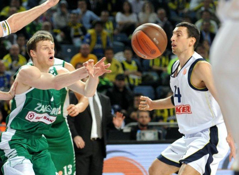 """""""Sinan Erdem arenoje"""" namų rungtynes žaidžia Stambulo """"Fenerbahce Ulker"""" ir Stambulo """"Efes Pilsen"""""""