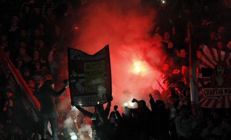 """Rusijoje """"Spartak"""" klubo fanai kovėsi su milicija"""