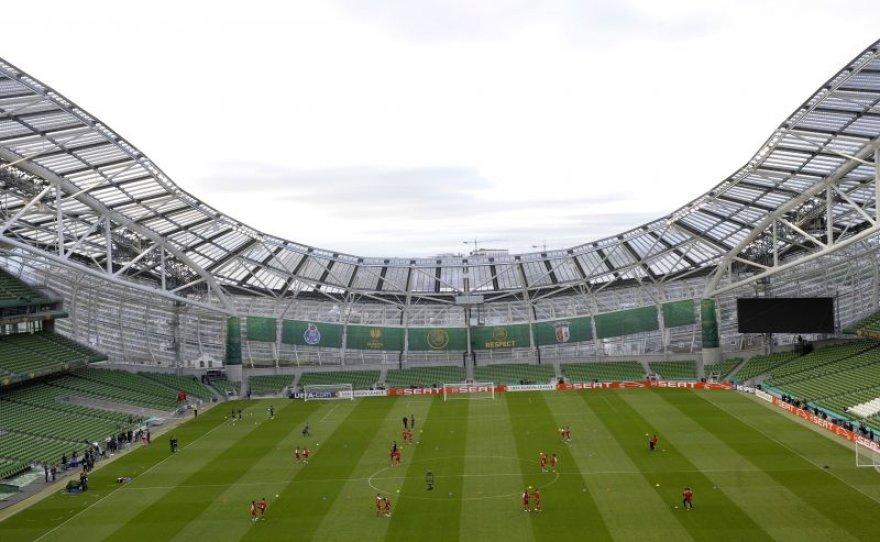 """""""Dublin Arena"""" (Dublinas, Airija)"""