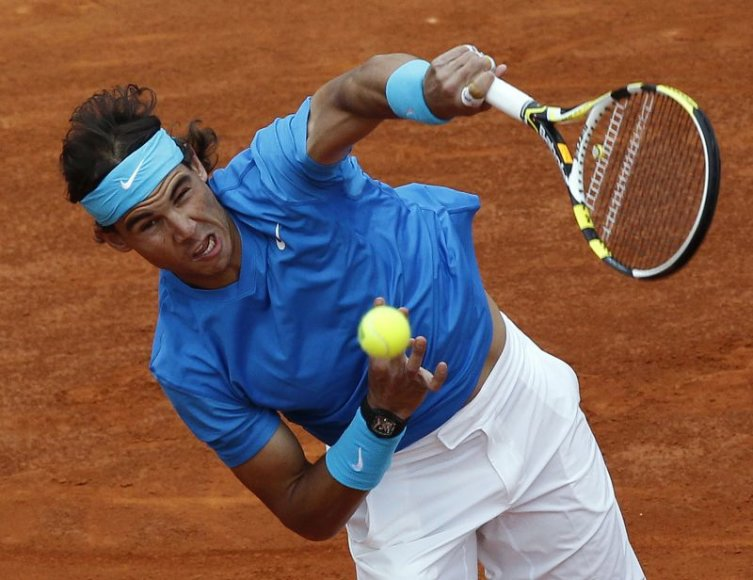 Rafaelis Nadalis trečiajame etape susitiks su N.Davydenko