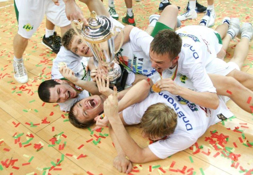 Aštuoniolikmečių triumfas Europos čempionate Vilniuje