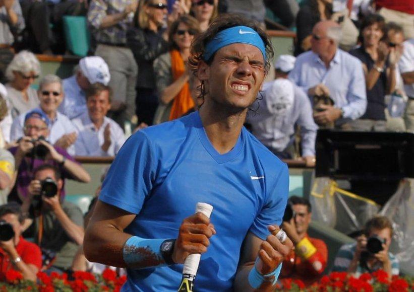 Rafaelis Nadalis Paryžiuje triumfavo šeštą kartą karjeroje