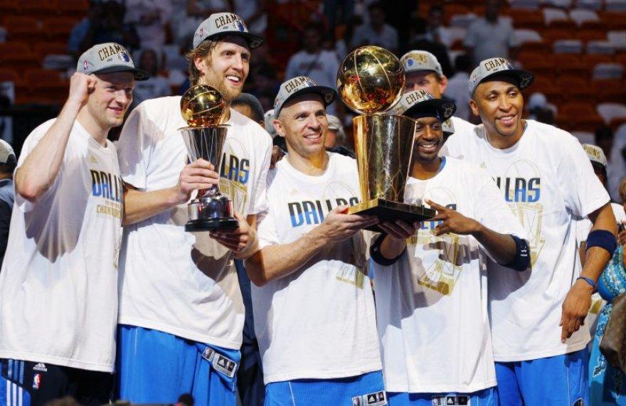 NBA titulas - Dalaso krepšininkų rankose