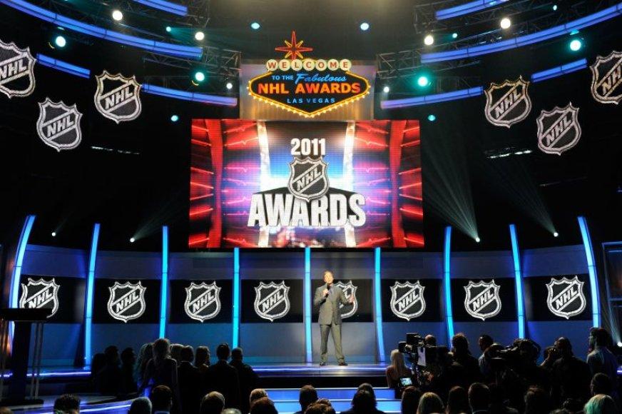 NHL apdovanojimų ceremonija vyko Las Vegase