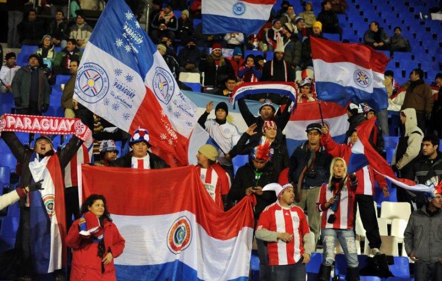Paragvajaus futbolo gerbėjai
