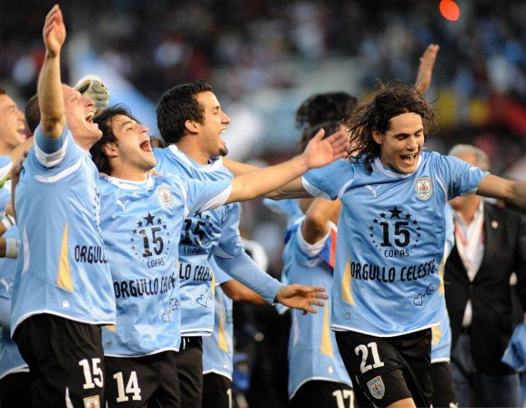 Finale triumfavvo Urugvajaus futbolo rinktinė