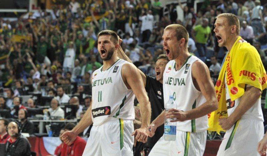 Lietuvos krepšinio rinktinei olimpiadoje prognozuojamas sidabras