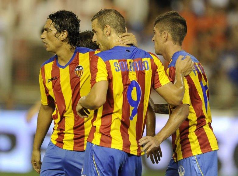 Valencijos futbolininkai pirmųjų rungtynių gali ir nežaisti
