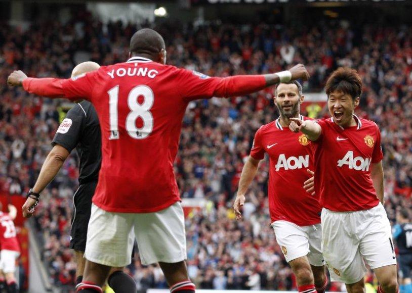 """""""Manchester United"""" - vienas populiariausių klubų pasaulyje"""