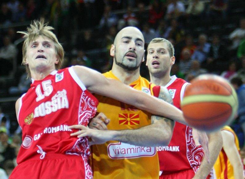 Andrejus Kirilenka Europos krepšinio čempionate