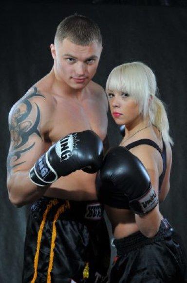 Sergejus Maslobojevas ir jo širdies draugė Tatjana