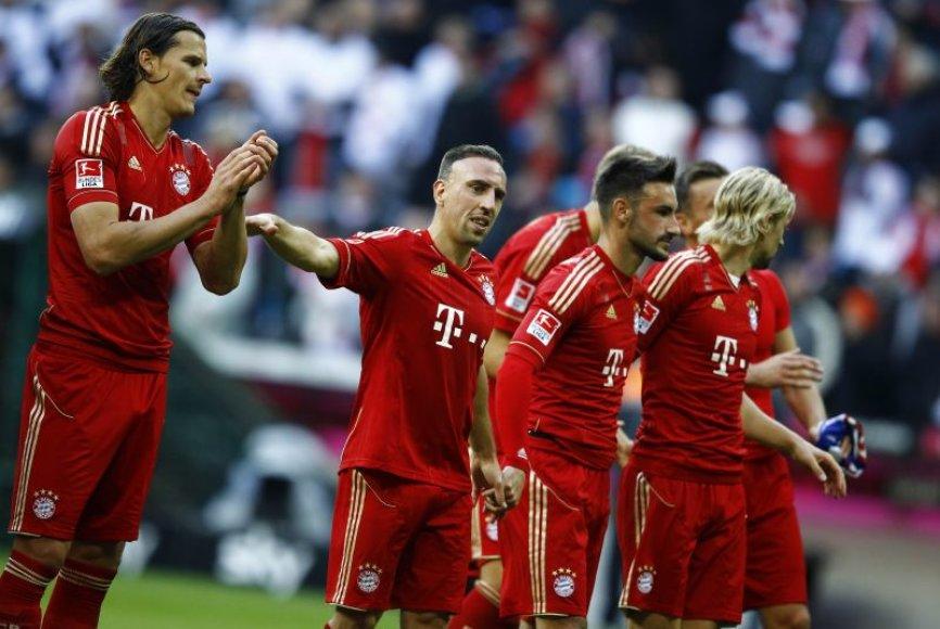 Franckas Ribery su komandos draugais iškovojo solidžią pergalę
