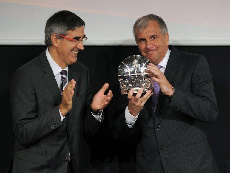 Željko Obradovičius ir Jordi Bertomeu