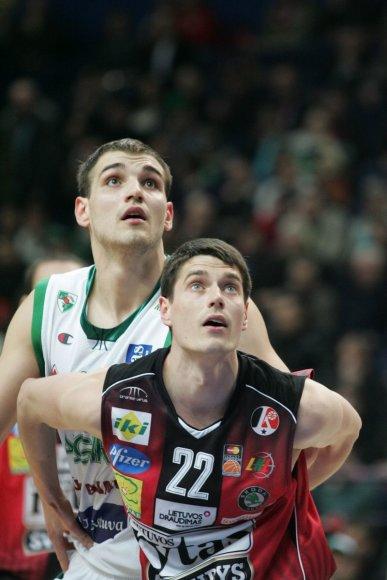 """Povilas Butkevičius """"Žalgirio"""" aprangą vilkėjo 2008-2010 metų sezonuose"""