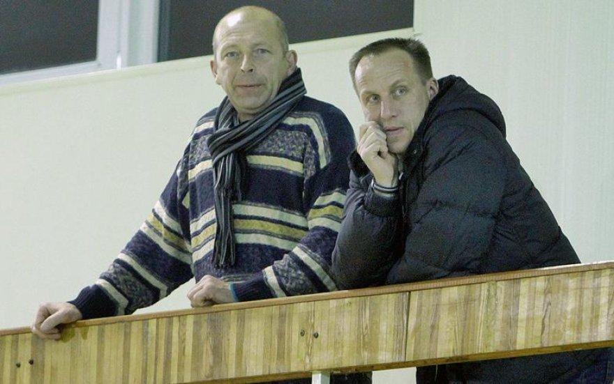 Raimondas Žutautas stebi LKF moterų taurės varžybų kovas