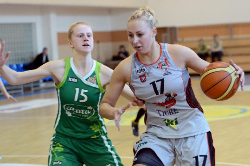 Rungtynių akimirka Vilniuje