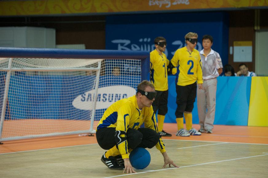 Švedijos golbolo rinktinė