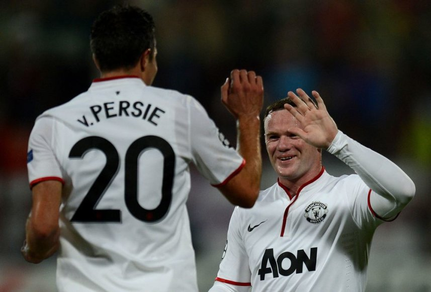 R.van Persis ir W.Rooney