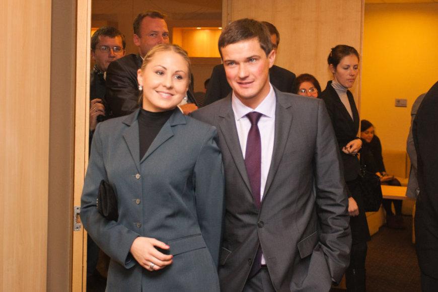 Andrejus Zadneprovskis ir Laura Asadauskaitė
