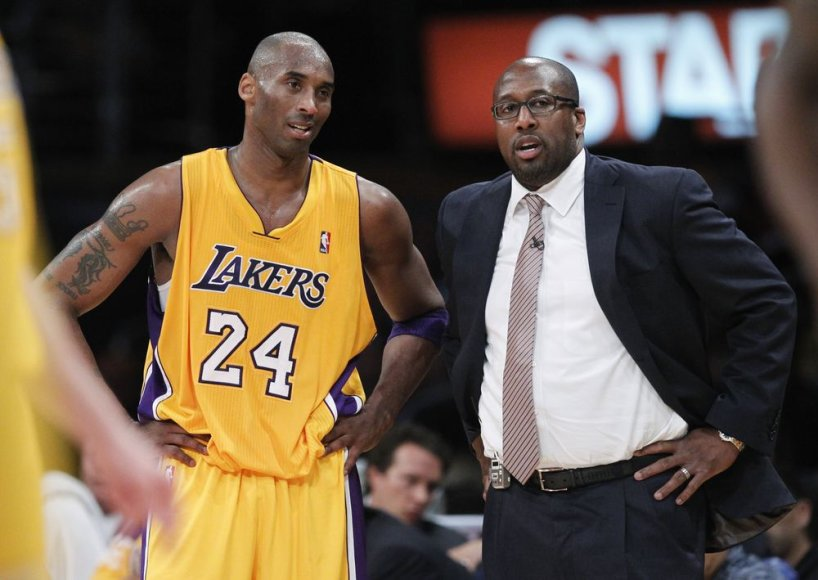 Mike'as Brownas ir Kobe Bryantas kartu nebedirbs