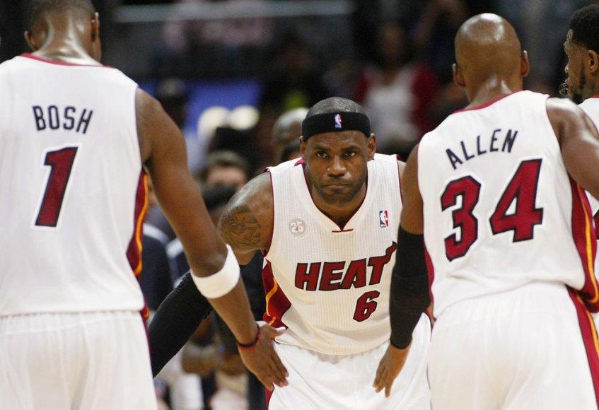 """Majamio """"Heat"""" patyrė antrą nesėkmę NBA čempionate"""