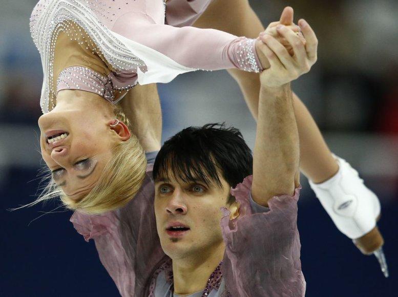 Tatjana Volosožar ir Maksimas Trankovas iškovojo aukso medalius