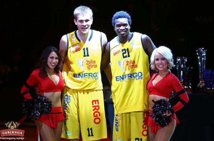 """""""Šiaulių"""" krepšininkai laimėjo naujametinį krepšinio turnyrą"""