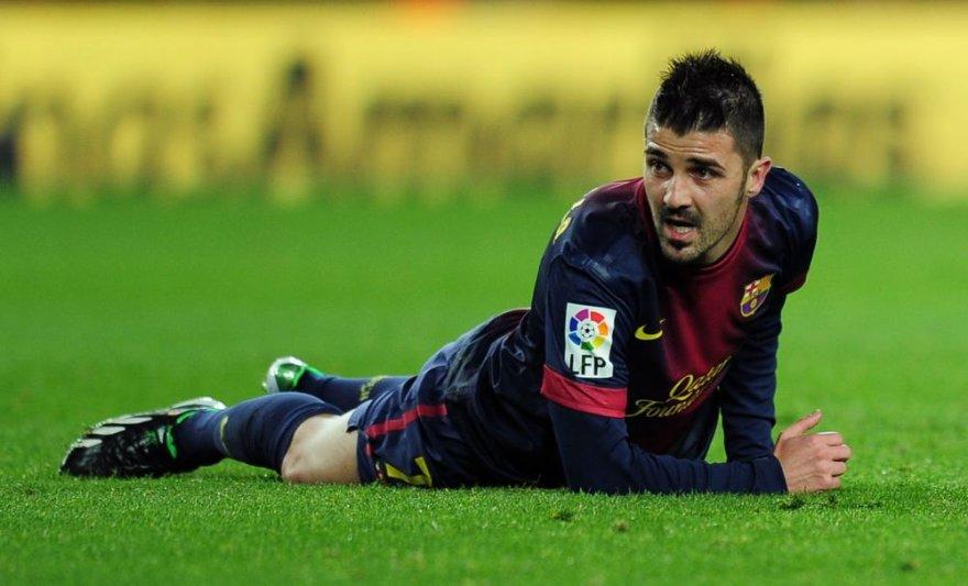 "Davidas Villa gali palikti ""Barcelona"" ekipą"