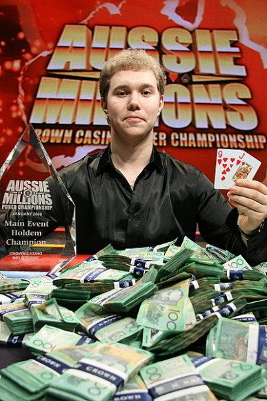 Pokerio profesionalas iš Rusijos Aleksandras Kostricinas