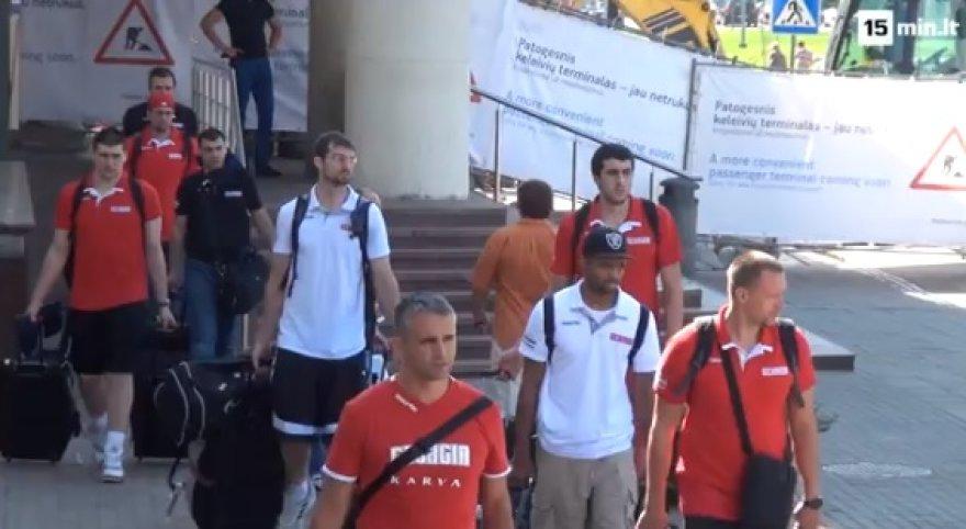 Gruzijos krepšininkai atvyko į Lietuvą