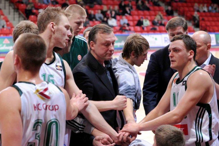 Kauno komanda patyrė dešimtąjį pralaimėjimą.
