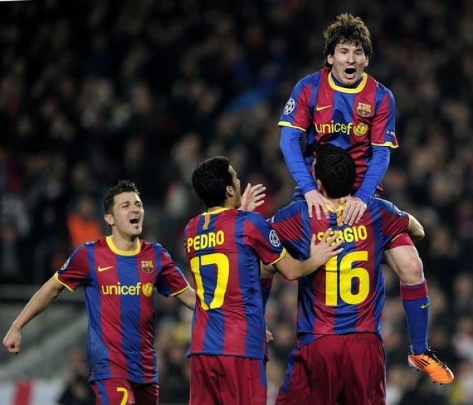 """Barcelona"" vadinama geriausia pasaulyje futbolo komanda"