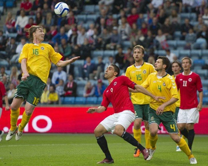 Lietuvos futbolo rinktinė išsaugojo FIFA poziciją