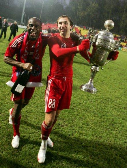 "2009-10 m. LFF taurę laimėjo ""Ekranas"""