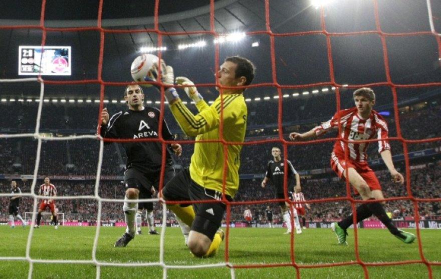 """Bayern"" ir ""Nurnberg"" rungtynių akimirka"