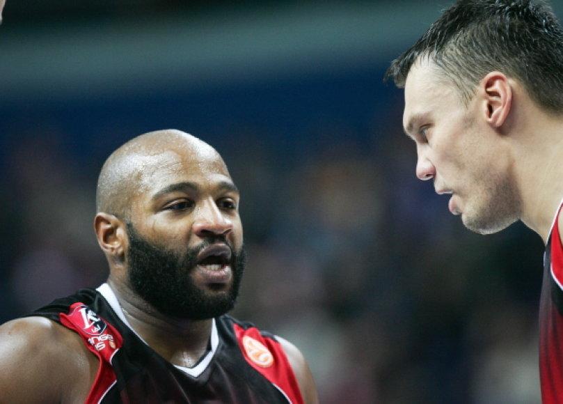 K.El-Aminas ir Š.Jasikevičius buvo rezultatyviausi savo komandoje