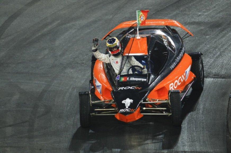 """Filipe Albuquerque tapo šių metų """"Čempionų lenktynių"""" nugalėtoju."""