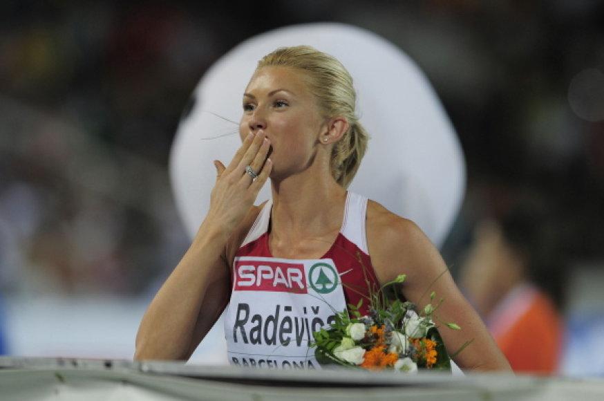 Ineta Radeviča išrinkta geriausia Latvijos metų sportininke