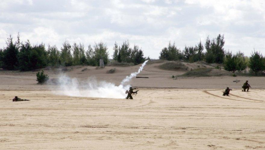 Pernai kartotiniuose mokymuose dalyvavo 96 atsargos kariai.