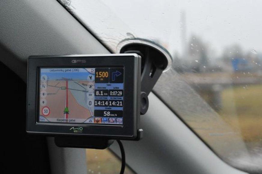 GPS - pasaulinės vietos nustatymo sistema
