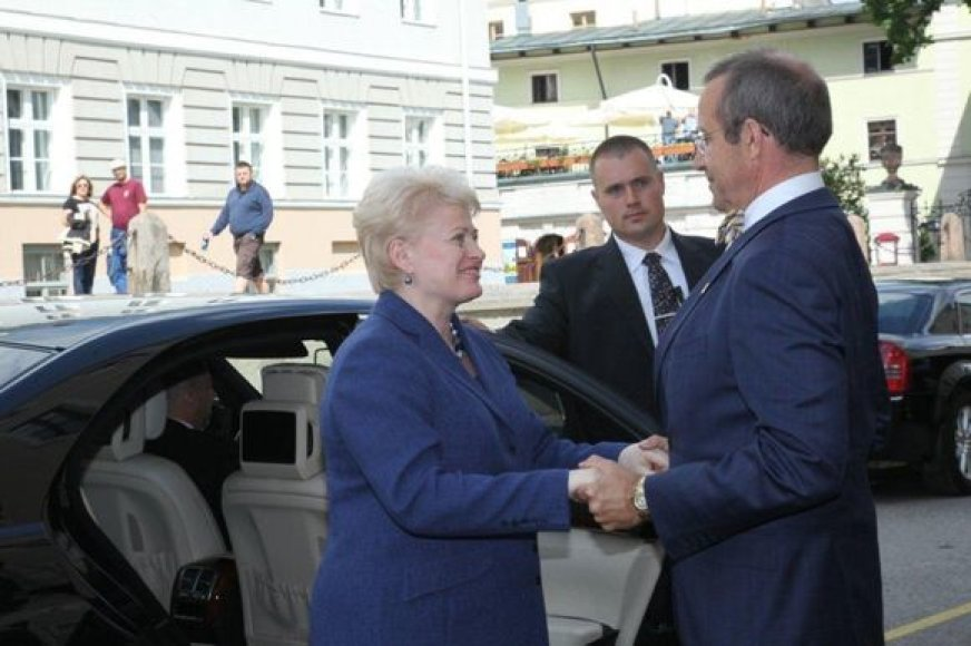 Dalia Grybauskaitė ir Estijos prezientas