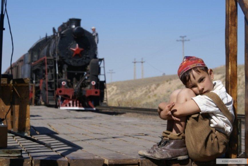 """Kadras iš filmo """"Dovana Stalinui"""""""