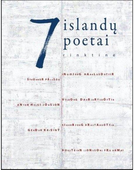 """Knygos viršelis/Knyga """"7 islandų poetai"""""""