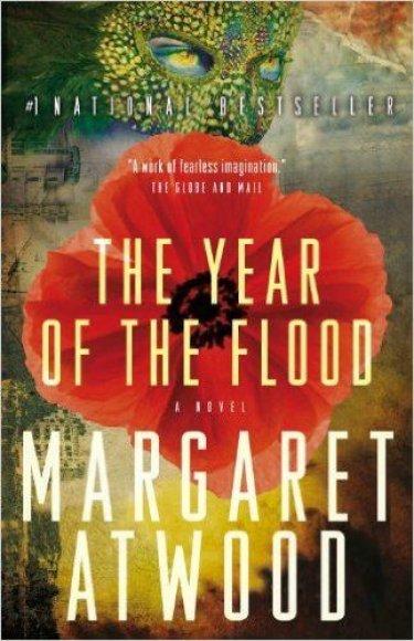 """Knygos viršelis/Knyga """"The Year of the Flood"""""""