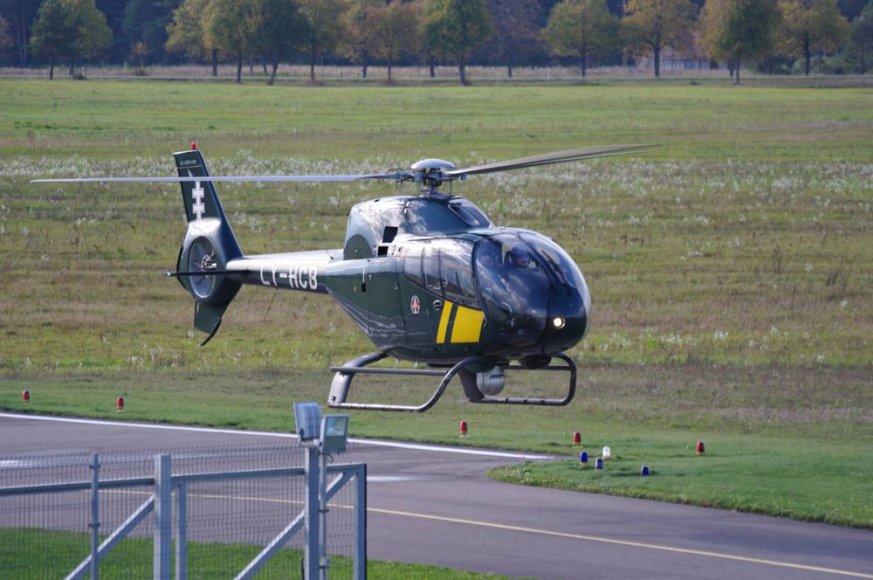 """Sraigtasparnis """"Eurocopter"""""""
